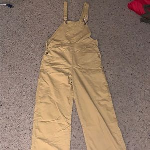 Nasty Gal yellow overalls!